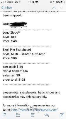 Supreme Skull Pile Skate Deck SS18 Confirmed
