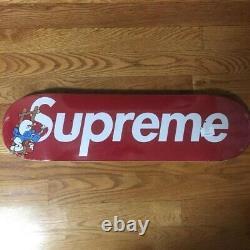 Supreme Smurf Skateboard Deck RED FW20 (SEALED)