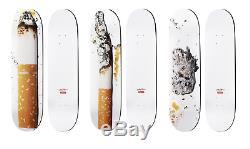 Supreme Urs Fischer Cigarette Skateboard Skate Deck Set