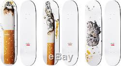 Supreme Urs Fischer Skateboard SET Toasted Fried Baked Deck Box Logo Skate Gucci