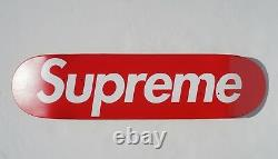 Supreme Vintage Skate Deck Red Logo Print Skateboard Deck