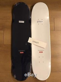 Supreme X New York Yankees 47 Brand Skateboard Deck Set (both 2)