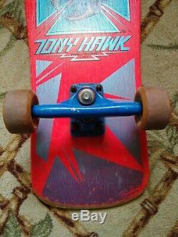 TONY HAWK POWELL PERALTA CHICKEN SKULL SKATEBOARD DECK 1983 (Unrestored) RARE