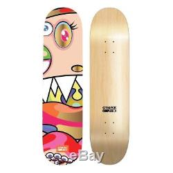 Takashi Murakami Complexcon Skate Deck Set of 3 Dobtopus Face