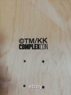 Takashi Murakami Complexcon Skull flower pattern skate deck Rare