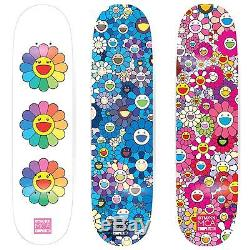 Takashi Murakami X ComplexCon Skate MCA Deck Flower 8.0 SET IS SOLD OUT