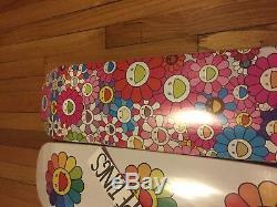 Takashi Murakami x Complex Con MCA Kaikai Kiki TM KK Set Skateboard Decks of 3