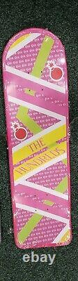 The Hundreds Back to the Future Pink Skateboard Deck Hoverboard Rare