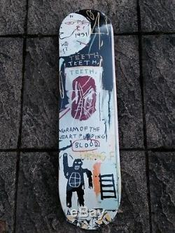 The Skateroom X J. M Basquiat Skate Decks Set Of Three In Italian Ltd Edt Rare