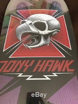 Tony Hawk Chicken Skull Powell Peralta Skateboard Deck -NOS, Not Reissue
