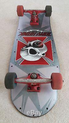 Tony Hawk Powell Peralta Full Size Skull Vintage Skateboard