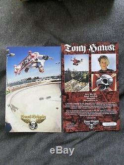 Tony Hawk Reissue Skull Deck Natural Series 11 Powell Peralta Skateboard