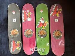 Toy Machine Teenage Mutant Ninja Turtleboy full series skateboard decks NOS