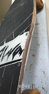 Used 1985 Eddie Reategui Alva Dolphin Old Vintage Skateboard Daggers Complete