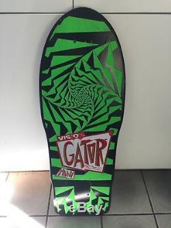 VINTAGE Vision MarkGATORRogowski Pro Skateboard NOS BLEMGonzales Grosso Hawk