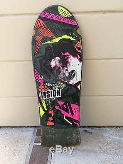 VISION MARK GONZALES original vintage skateboard deck