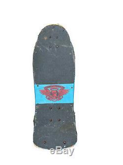VTG 1983 Tony Hawk Powell Peralta Chicken Skull Skateboard Deck 80s SK8 Bones