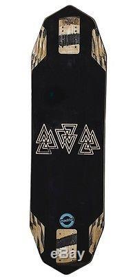 Valhalla Octahedron Skate Deck Black 1035