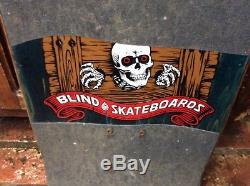 Very Rare 1990 Blind Mark Gonzales skull banana vintage skateboard indys