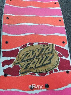 Vintage1987Santa CruzSalba VoodooSteve AlbaSkateboard Deck! Witch, powell, g&s