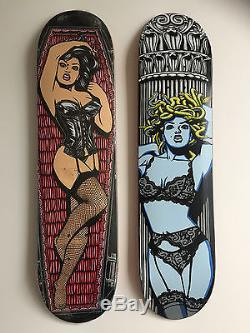Vintage 101 skateboard Vampire deck NOS