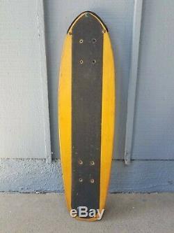 Vintage 1970's Santa Cruz Skateboard Deck 5 ply 27 x 7.5