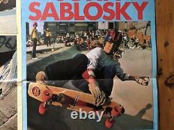 Vintage 1970s Benjyboard Skateboard Deck Nos