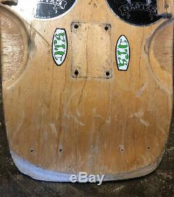 Vintage 1978 Dogtown Wes Humpston OG Pig Skateboard Deck