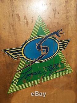 Vintage 1978 SIMS Lonnie Toft Snubnose Skateboard Deck Alva Dog town Santa Cruz