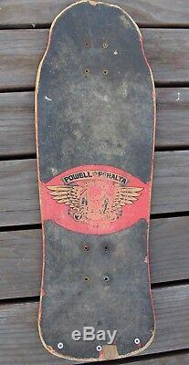 Vintage 1983 OG Tony Hawk Powell Peralta Skateboard Skate Deck Skull Bones Rare