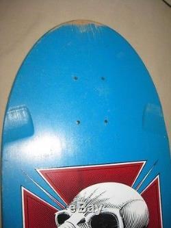 Vintage 1983 Powell Peralta Tony Hawk Chicken Skull Skateboard Deck