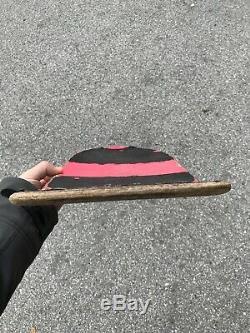Vintage 1985 1st Edition Rob Roskopp Santa Cruz Skateboards Rare Pink Dip Deck