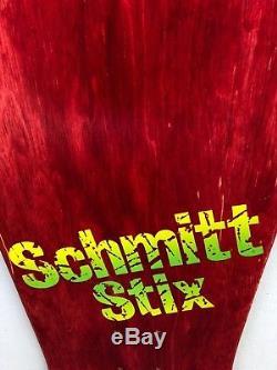 Vintage 1986 Schmitt Stix Jeff Grosso Ragdoll/Blocks Skateboard Deck NOS Rare