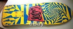 Vintage 1986 Vision Mark GATOR Rogowski Skateboard Deck SUPER RARE LOGO BLEM