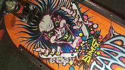 Vintage 1987 Sims Kevin Staab Mad Chemist Mini Skateboard Powell Mini Rats