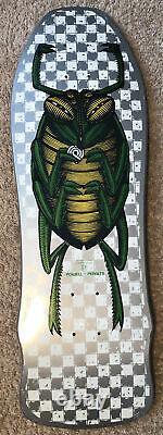 Vintage 1988 POWELL PERALTA Bug XT SKATEBOARD DECK Nos In Shrink Wrap OG