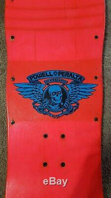 Vintage 1988 Powell Peralta Mike Vallely Elephant Skateboard Deck Rare Pink