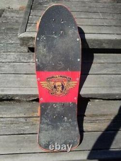Vintage 1988s POWELL PERALTA Steve Caballero 7PLY Original Rare Skateboard