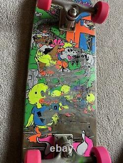 Vintage 1989 OG Mike Vallely World Industries Barnyard skateboard powell peralta