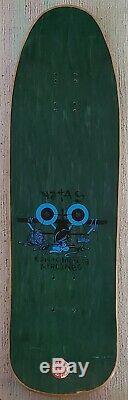 Vintage 1990 SMA Natas Kaupas Drunk Cat Skateboard Deck