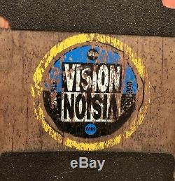Vintage 1991 Vision Double Vision Snub Skateboard 1st Popsicle Deck In History