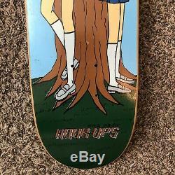 Vintage 1994 Rare Hook-Ups Twins Skateboard Deck Jeremy Klein Birdhouse