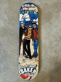 Vintage 2003 Baker Reynolds Weekend at Andrews skateboard deck NOS