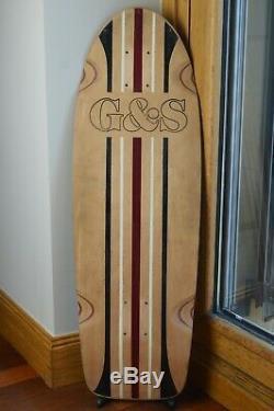 Vintage 70's G&S PROLINE 500 Skateboard Deck CUSTOM ONE-OFF