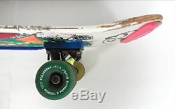 Vintage 80s Jeff Kendall Santa Cruz Graffiti Skateboard