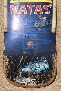 Vintage 80s Skateboard Natas Kaupas Deck Kitten SMA