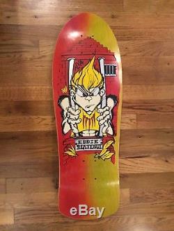 Vintage Alva skateboard. Eddie Reategui