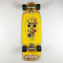 Vintage Dogtown 1978 Skateboard Wes Humpston Bulldog Designs Deck Ultra Rare GUC