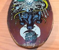 Vintage Jason Jessee Shark Tail Neptune Santa Cruz Skateboard Deck Jim Phillips