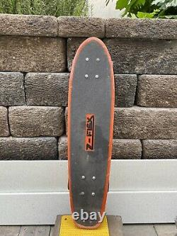 Vintage Jay Adams Z Flex Skateboard Original Alva G&S Tunnel Zephyr Zboy